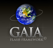 Gaia front-end flash framework.