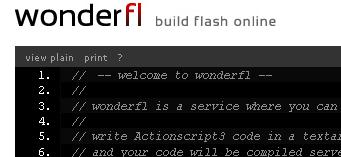 Script & Compile flash online
